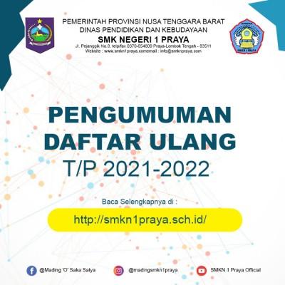 Info Pengumuman PPDB SMKN 1 Praya T.P. 2021/2022