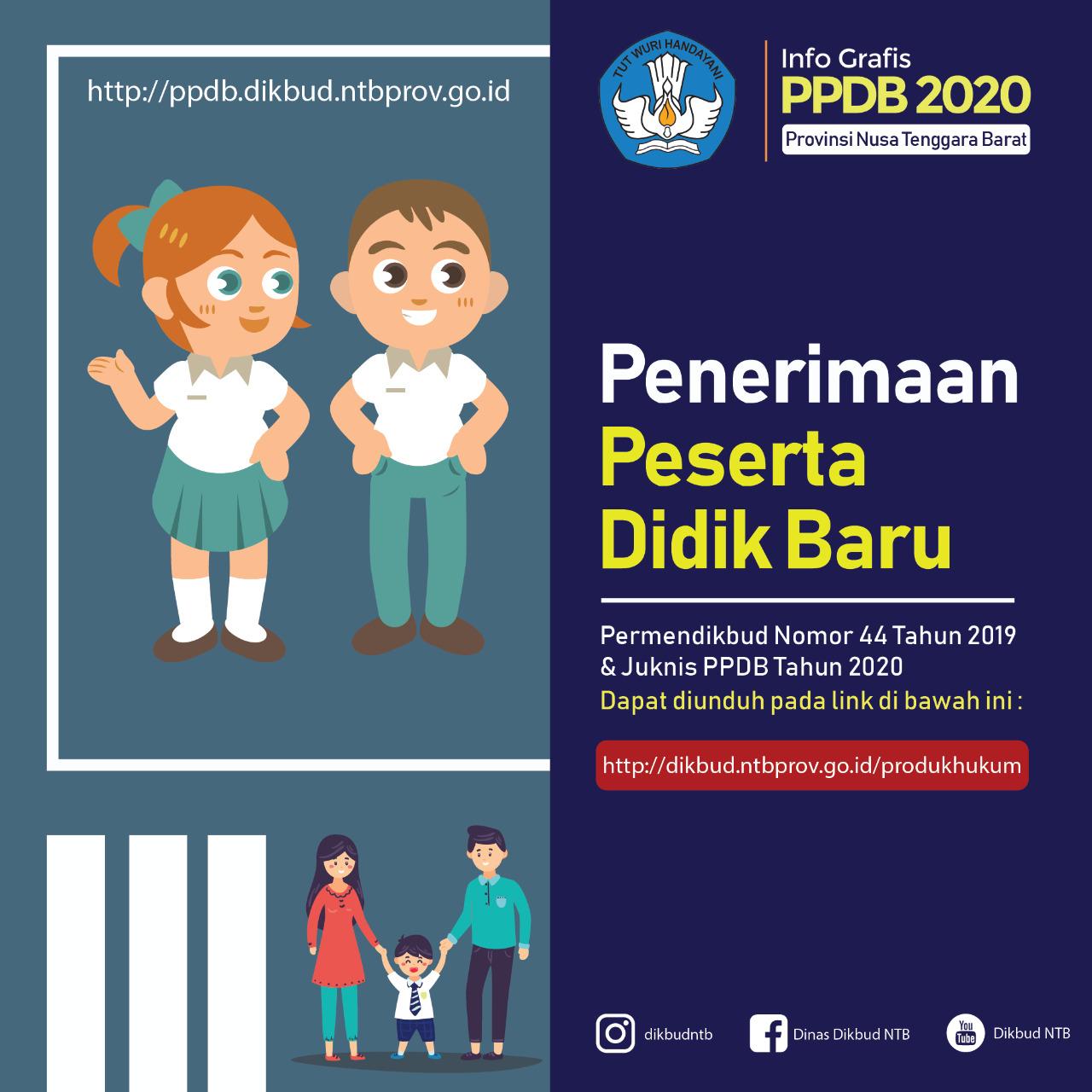Infografis PPDB 2020